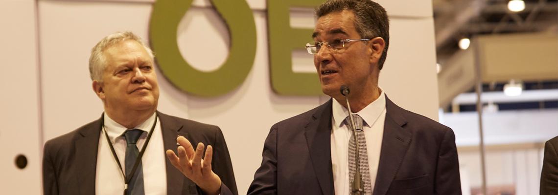"""Abdellatif Ghedira: """"El equilibrio entre la demanda y el consumo en el sector del aceite de oliva evitará tensiones con el precio"""""""